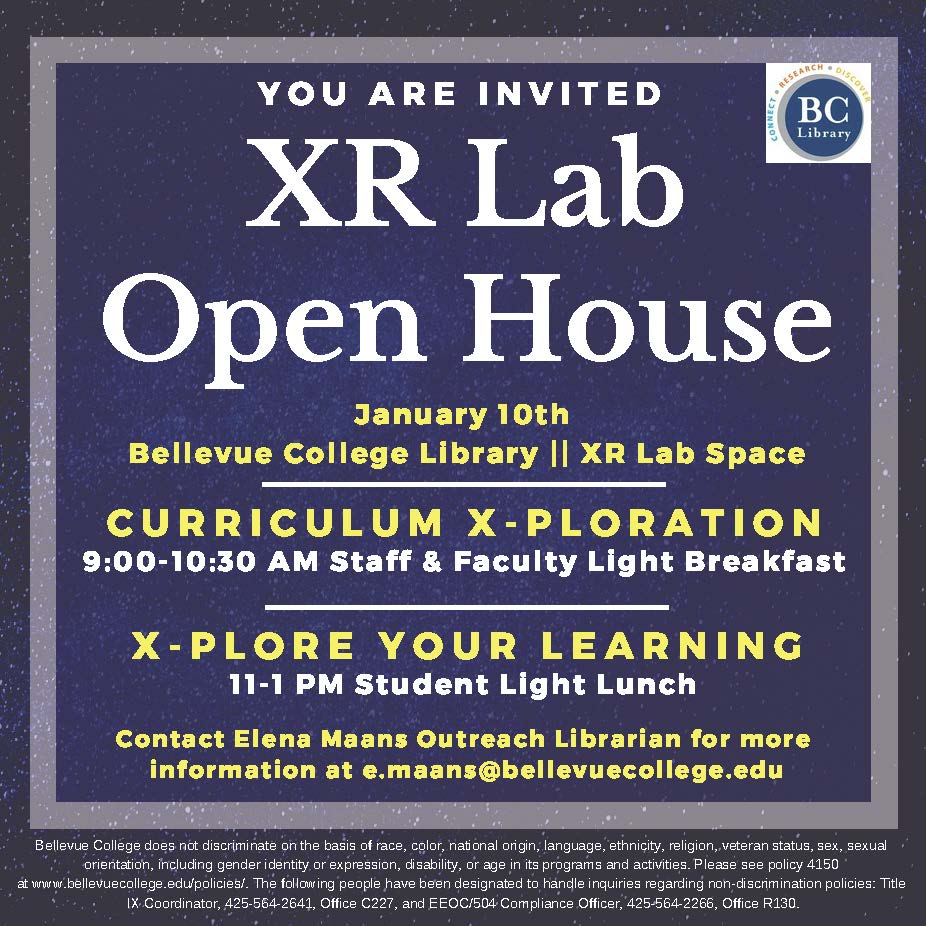 XR Lab Open House