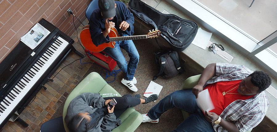 student singers