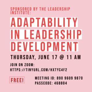 Adaptability in Leadership Development