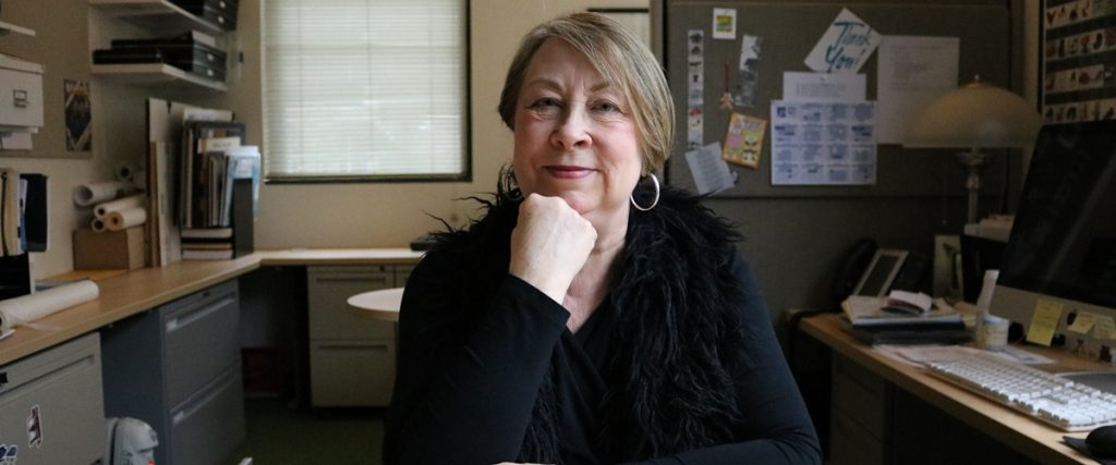 Connie Wais, a founder of BC's highly rated interior design program.