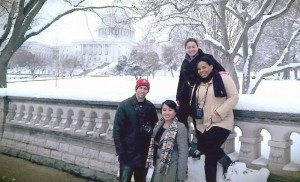 BC Students Learn About Social Justice Organizing in D.C.