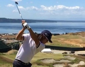 Richard Lee has parlayed his collegiate start at Bellevue College into success on the PGA Tour, including a spot in the 2015 U.S. Open at Chambers Bay