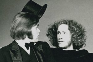 Two BC drama students in 1973