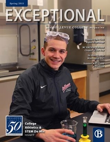 Cover of Exceptional - Spring 2015 issue