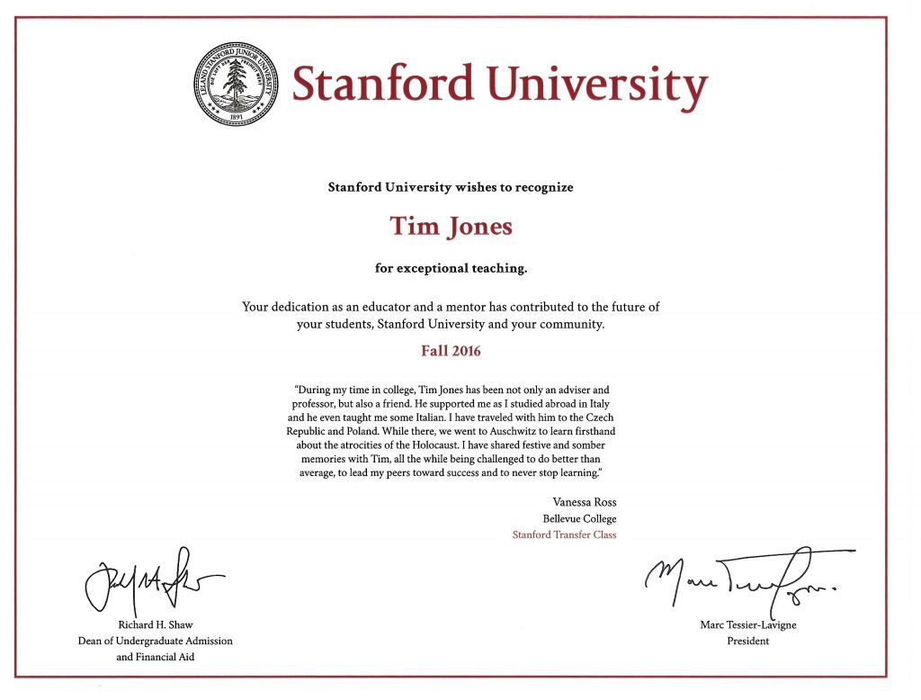 Political Science & International Studies Chair Recognized by ...