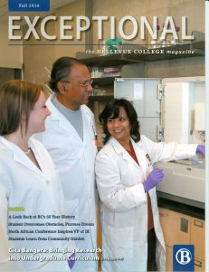 Cover of Exceptional - Fall 2014 issue