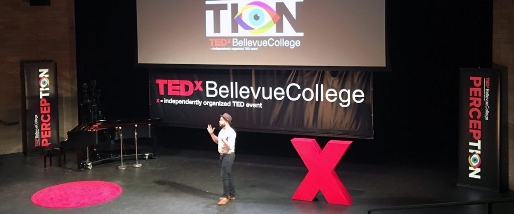 TEDxBellevueCollege featured 10 speakers on a wide range of topics