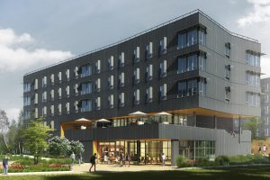 BC's New Student Housing Offers Sustainability With a View