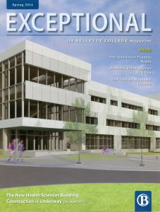 Cover of Exceptional - Spring 2014 issue