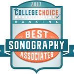 CollegeChoice.net Badge for our Sonography program.