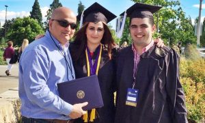 Family from Azerbaijan Earn Their Degrees Together