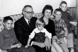 Landerholm family photo