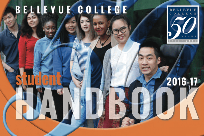 Student Handbook Front Cover