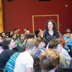 memory war theater engaging students in discussion
