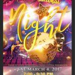 International Night poster