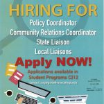 OSLA is Hiring Visit C212 for applications
