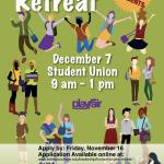 Mid year retreat Dec. 7, 9 am - 1 pm