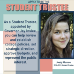 Apply to be the Student Trustee