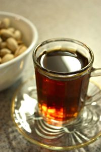 Cup of Arabic tea