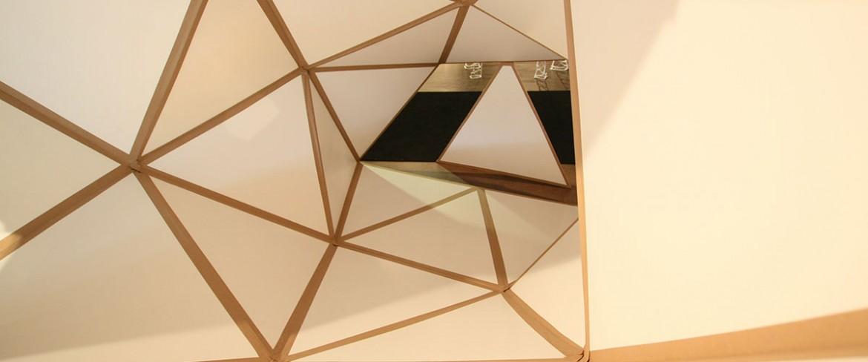 Modern-art geometric 3D design (Student Work)