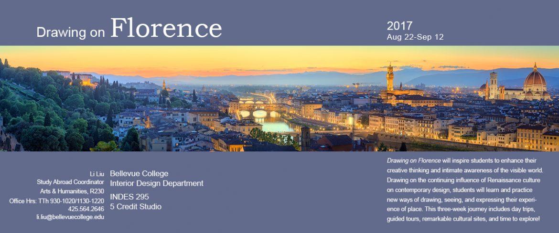 Arno River, Ponte Vecchio, Vecchio Palace, Basilica of Santa Croce at sunset Florence