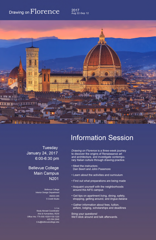 Florence Info Session 01 Poster Letter