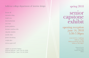 Senior Capstone Exhibit Information
