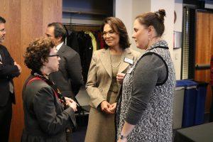 Justice Sheryl Gordon McCloud at the reception.