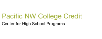 Pacific NW College Credit