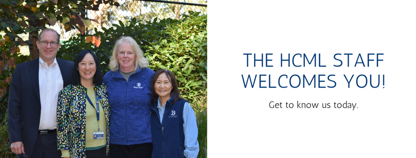 HCML Staff Welcomes You!