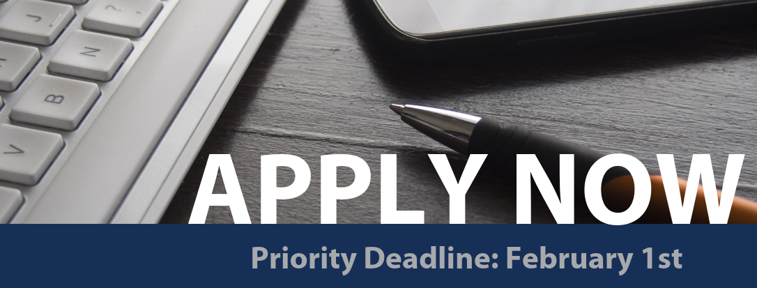 Spring Admission: Priority Deadline February 1st