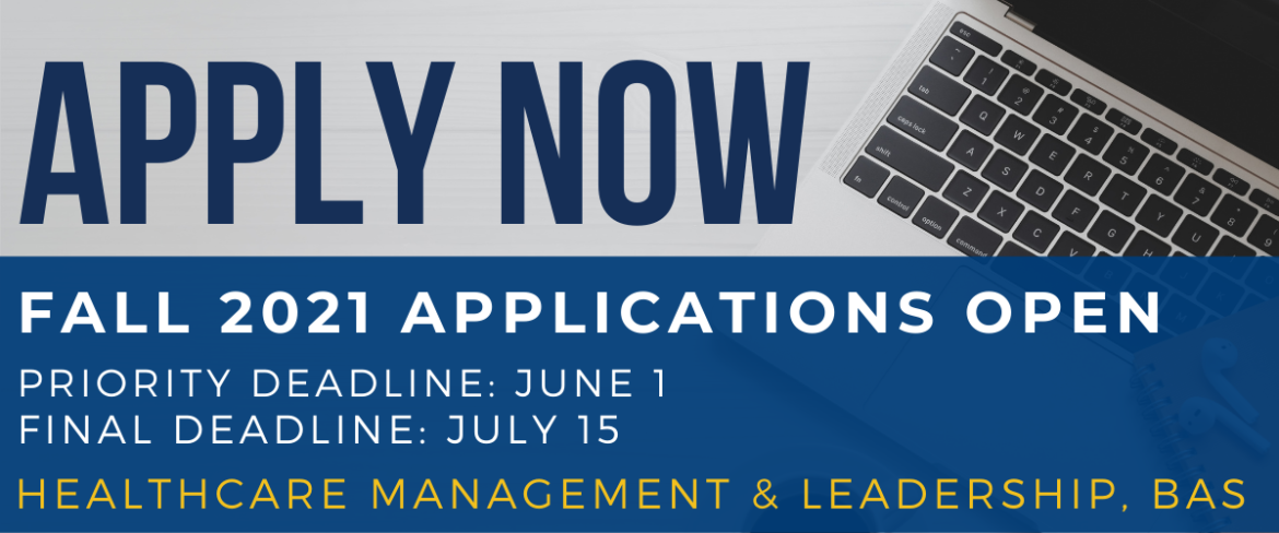 Fall 2021 Applications will open April 15th. Priority Deadline is 6/1 and Final Deadline is 7/15