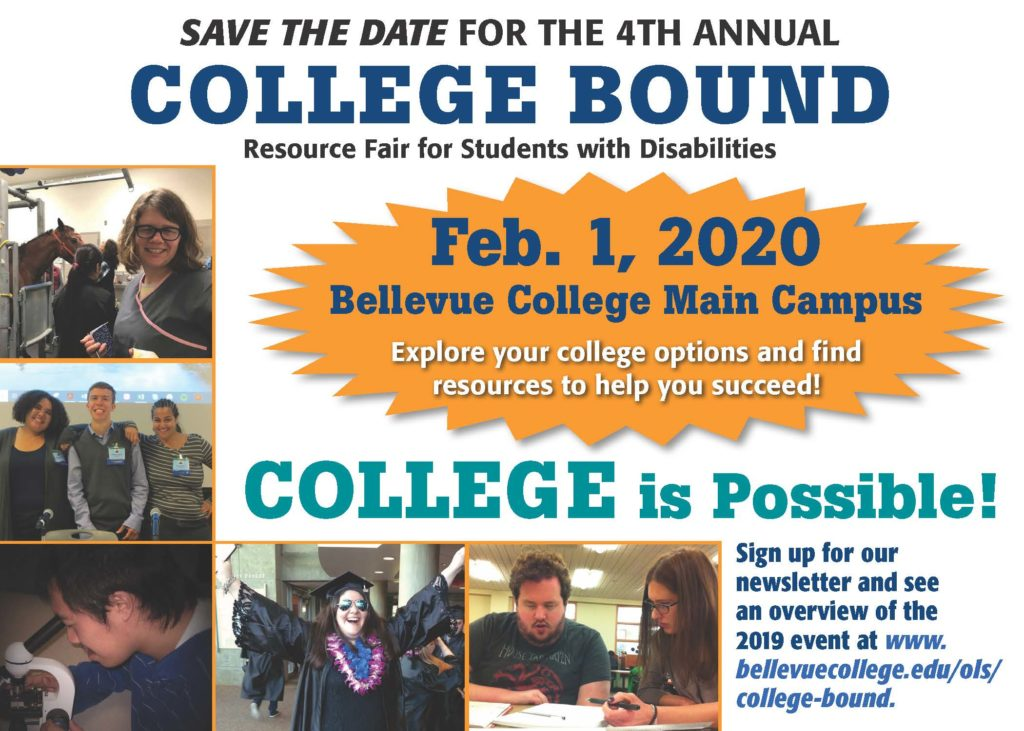 Colelge Bound Save-The Date flier