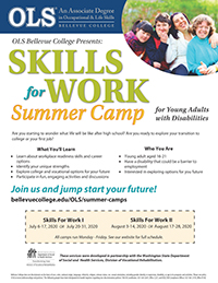 skills for work summer flier