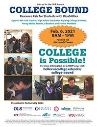 College Bound Flier - Click to download