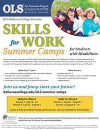 OLS Summer Camps flier - click to download