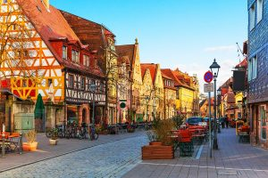 old town scenery in germany