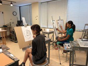 Teen Drawing class