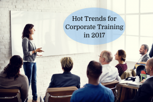 hot trends for corporate training in 2017