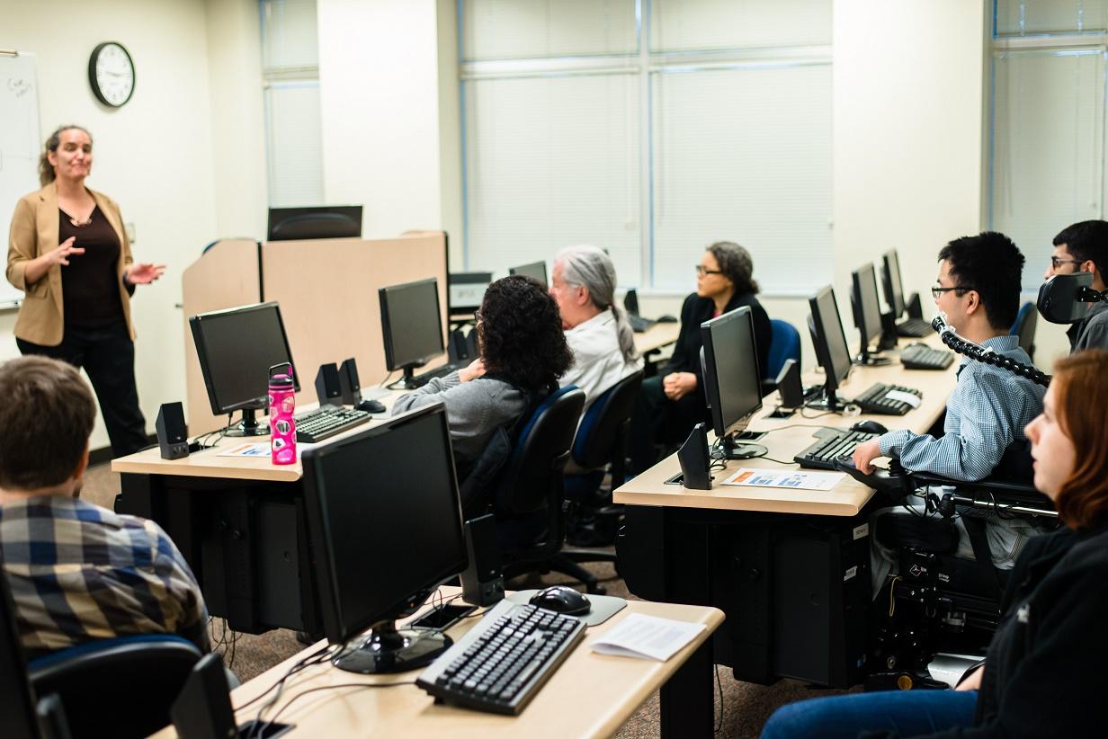 Web Design classroom