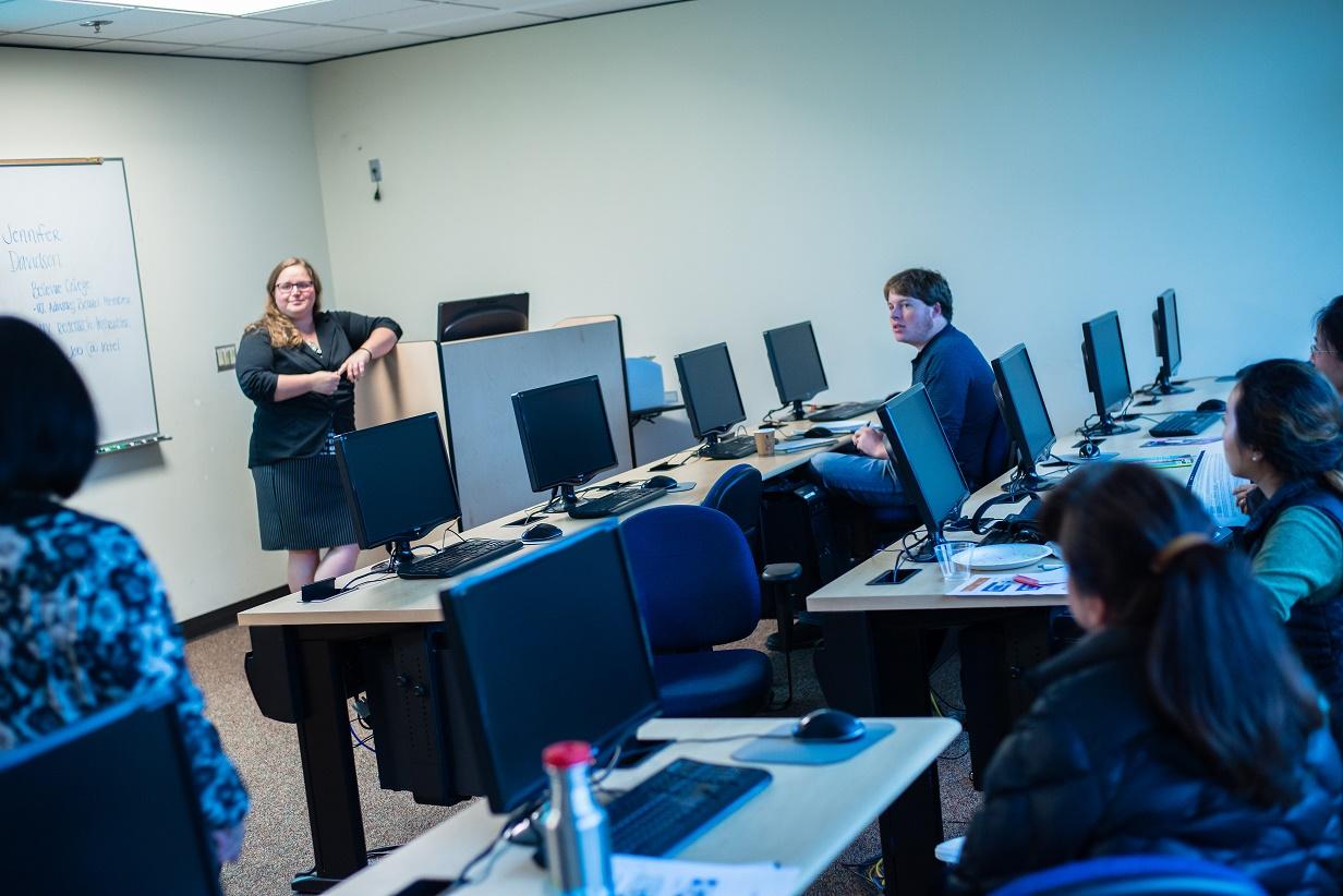 UX Design classroom