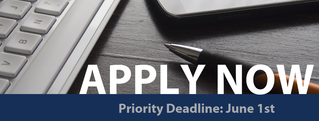 Apply Now priority deadline June 1