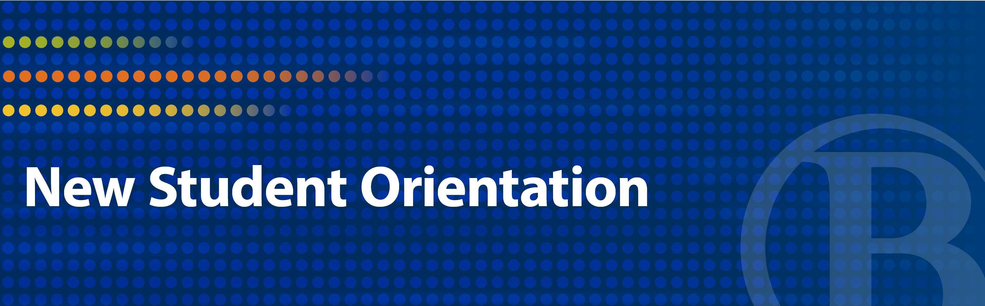 New Student Orientation at Bellevue College