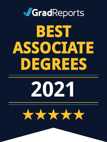 GradReports Best Associate Degrees 2021