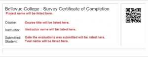 Example of Certificate of Completion image