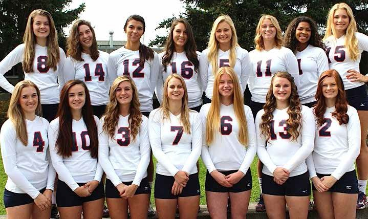 2014 Bellevue College volleyball