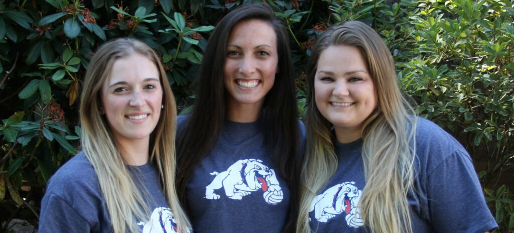 Image of the 2015 BC volleyball coaches