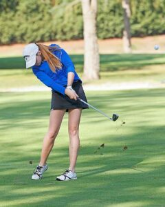 Kendra Meeker finished second overall at the Walla Walla Invite. photo by Rich Dworkis.