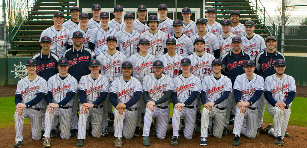 2015 Bellevue College baseball team