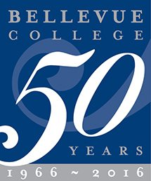 Bellevue College 50th Anniversary Logo